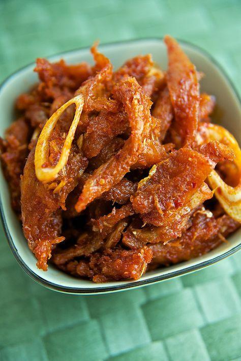 밑반찬_북어채 무침 레시피, 한국 음식, 기본 요리,