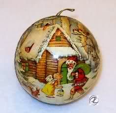 23 best Christmas Ornaments images on Pinterest | Glass ornaments ...