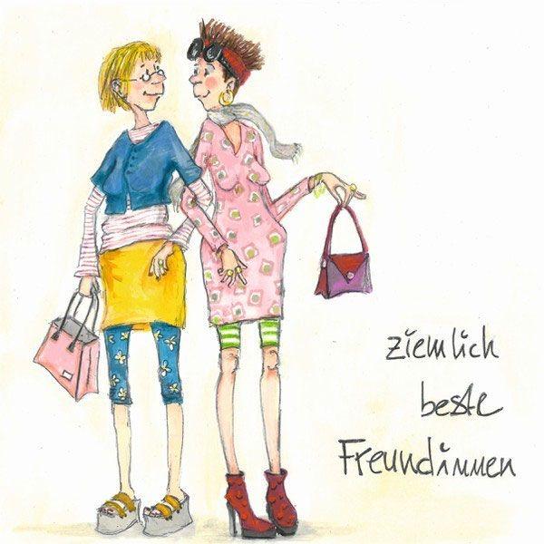 Freundinnen  Fairly best of friends © Barbara Freundlieb
