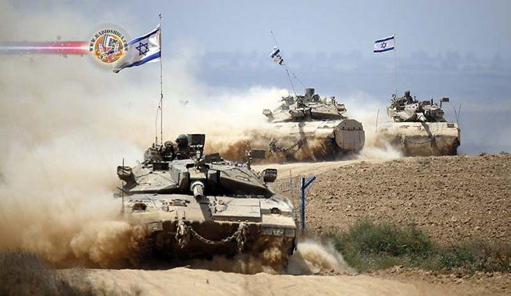 srael abre fogo contra Hamas na Faixa de Gaza. Tanques das Forças de Defesa de Israel atacaram e destruíram uma posição do Hamas na Faixa de Gaza...