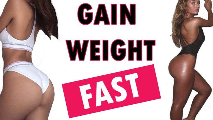 how to add weight fast