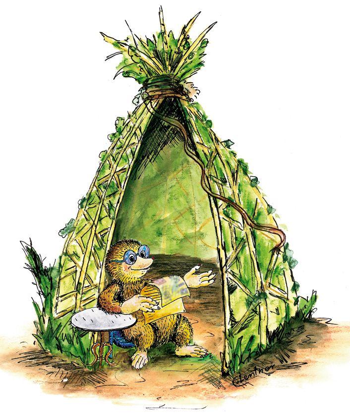 Hui, es wird wieder windiger – der Herbst ist da! Schön, denn nun ist die richtige Zeit zum Pflanzen. Wie wäre es, wenn du jetzt schon für den nächsten Sommer vorsorgst und dir ein schattiges Plätzchen im Garten baust: Zum Beispiel ein Weiden-Tipi?