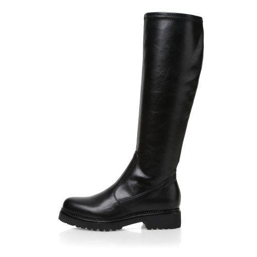 Брендовые сапоги. Купить модные кожаные женские сапоги Mascotte классического или молодежного стиля. Осенние и зимние коллекции. Интернет-магазин Mascotte
