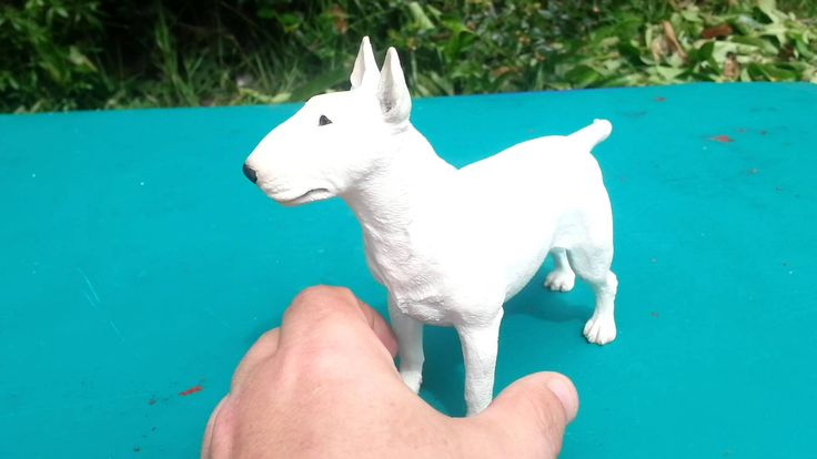 stunning white english bull terrier figurine sculpture sculptured by the highly talented marget turner for border fine arts, do not confuse this in anyway to...