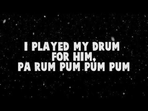 for KING & COUNTRY - Little Drummer Boy (Lyrics) - YouTube