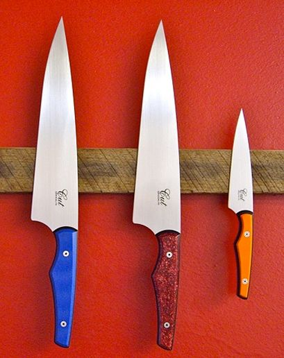 Cut Brooklyn chef and pairing knife...