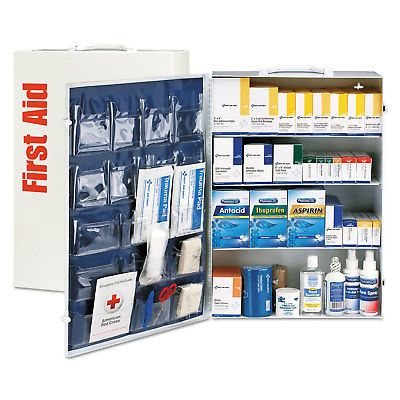 Other First Aid: First Aid Only Ansi Class B+ 4 Shelf First Aid Station With Medications 1437 -> BUY IT NOW ONLY: $319.01 on eBay!