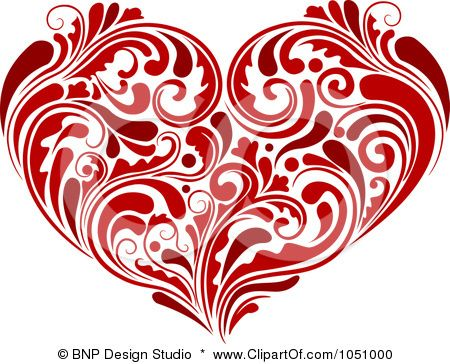 Google Image Result for http://images.clipartof.com/small/1051000-Royalty-Free-Vector-Clip-Art-Illustration-Of-A-Red-Heart-Made-Of-Lush-Flourishes.jpg