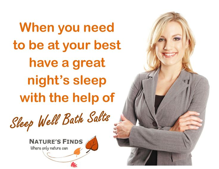 When we need to be at our best and put in a solid day of work or play, then a simple warm bath with Nature's Finds Sleep Well Bath Salts will allow us to relax, detox and get a great nights sleep. Wake recharged ready to go and achieve.