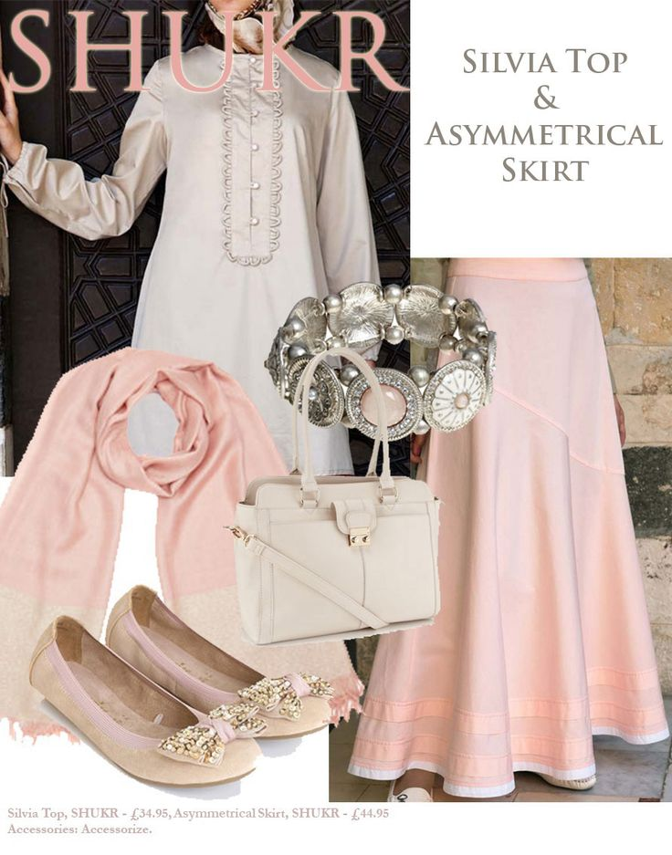 Shop the Look at SHUKR! Pretty in Pink