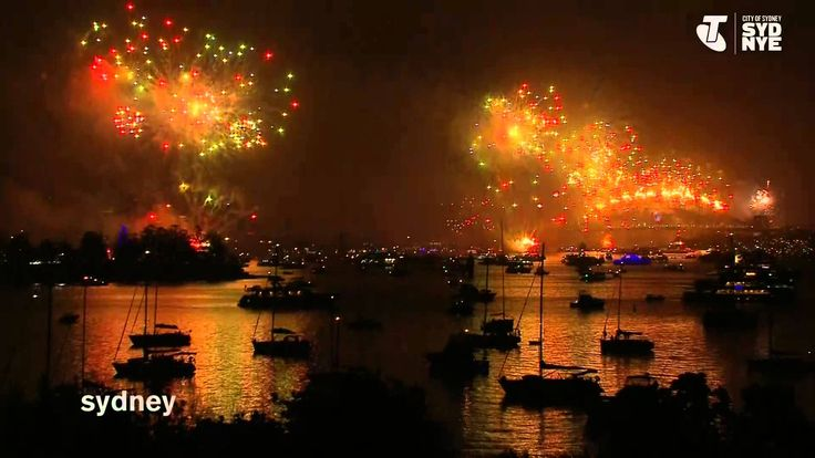 Sydney New Years Eve 2014-2015 Fireworks full video from Telstra Youtube show.