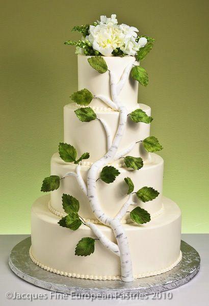 Rustic Wedding Cake from rusticweddingchic.com