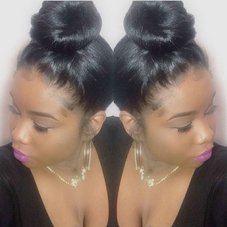 Brazilian Natural Hair : #bun#black#hair#fashion#women#beauty#forblackwomen#mimicafricanamerican#bestwigs