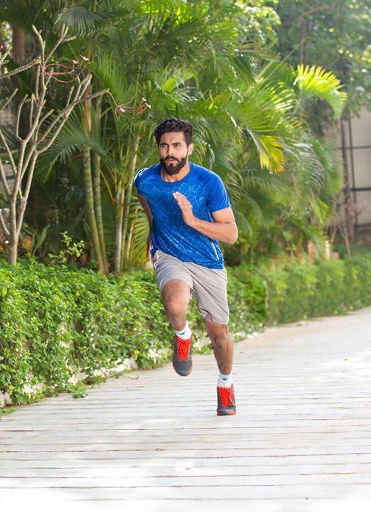 Ravindra Jadeja in his new zeven look  For more cricket fun click: http://ift.tt/2gY9BIZ - http://ift.tt/1ZZ3e4d