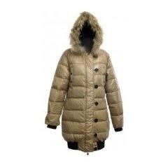 Manteau Moncler dans Boutons Beige