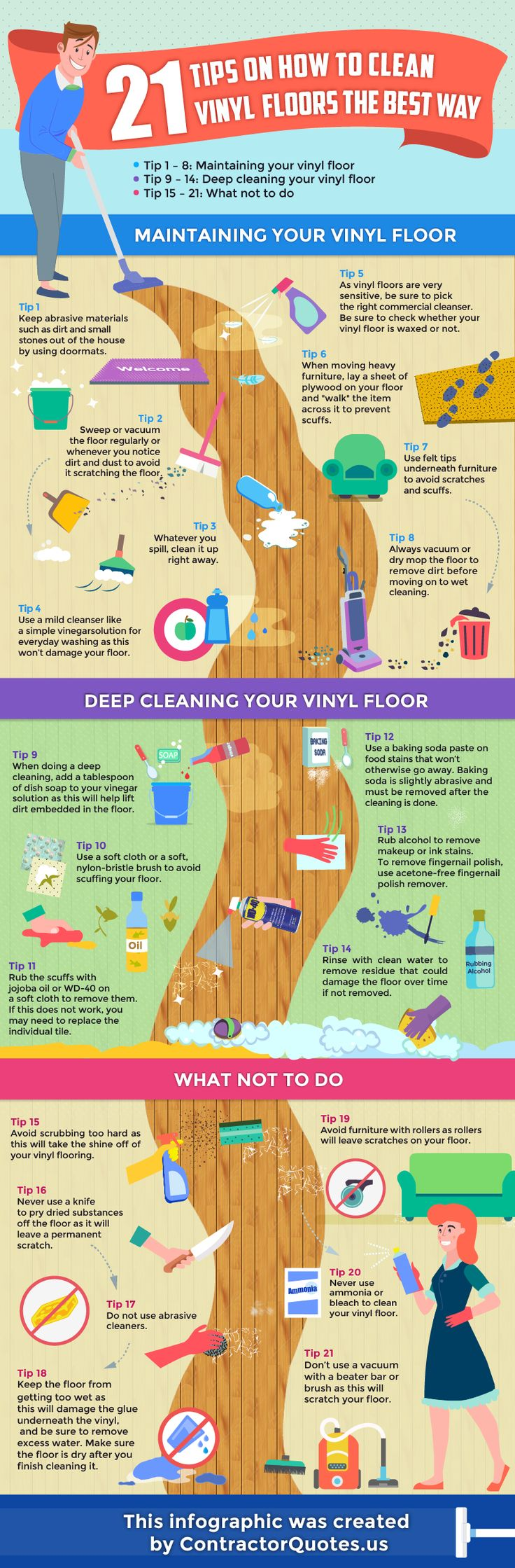 Kitchen Floor Cleaners 17 Best Ideas About Cleaning Vinyl Floors On Pinterest Vinyl