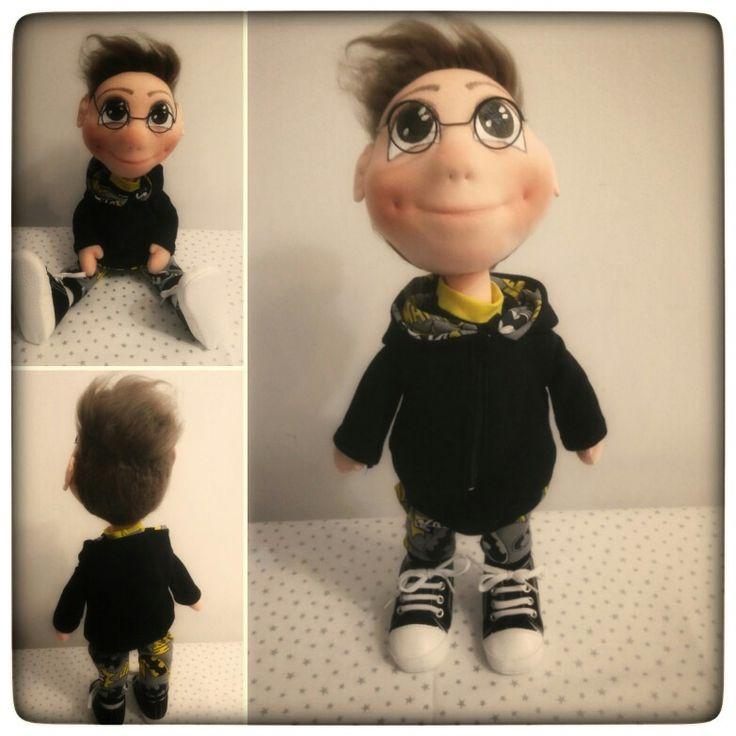 My new handmade doll Batman boy