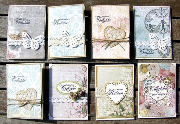 Minikort 7,5x10,5 cm  Charlotte Ravn