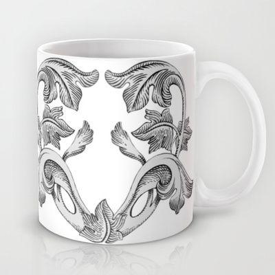 GREAT LOVE B & W Mug by Chicca Besso - $15.00