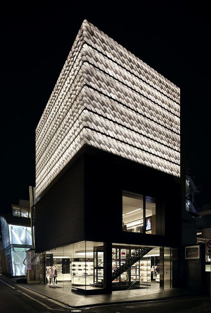 Marc Jacobs Flagship Store in Tokyo's Aoyam District
