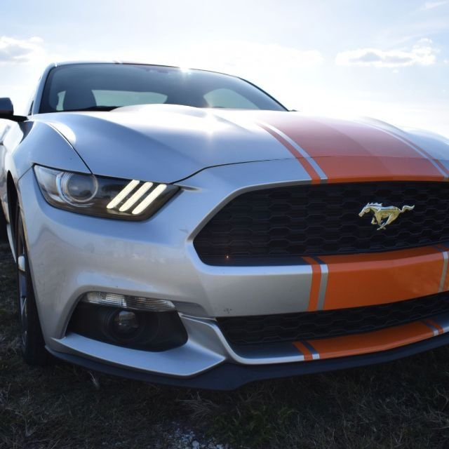Used 2015 Ford Mustang Ecoboost Premium Coupe 2d Ford Mustang Ecoboost Mustang Ecoboost 2015 Ford Mustang Ecoboost