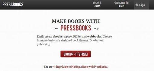 PressBooks pasa a ser de código abierto, para crear y publicar libros