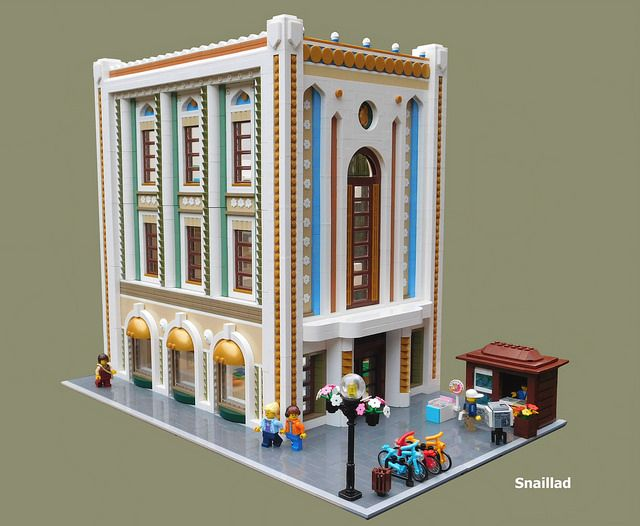 lego head office. my latest moc is called astrid and associates architecture firm this building the new head office for as a showc lego