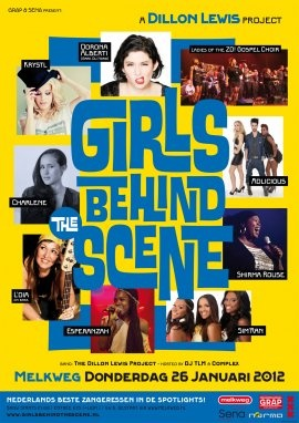 Girls behind the scene: the best Dutch vocalists in the spot light