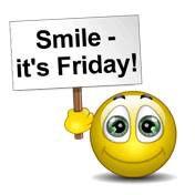 Smile It39s Friday Speaking Smileys Good morning smiley