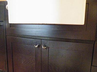 Installing New Kitchen Sink Cabinet