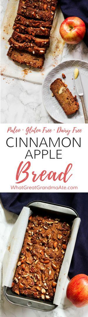 Cinnamon Apple Bread | Posted By: DebbieNet.com