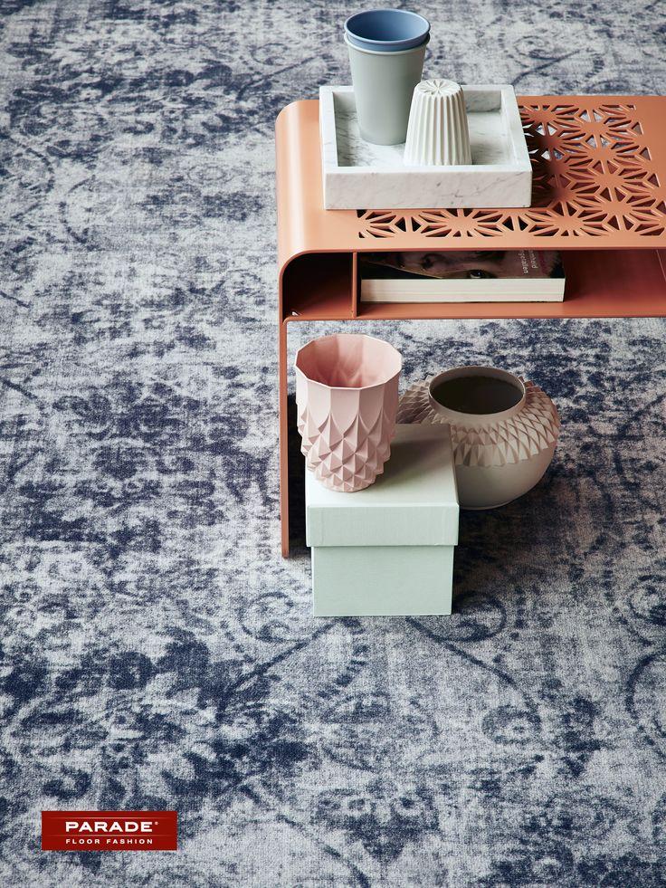 Wegdromen bij het Parade vintage tapijt van Desso. #vintage