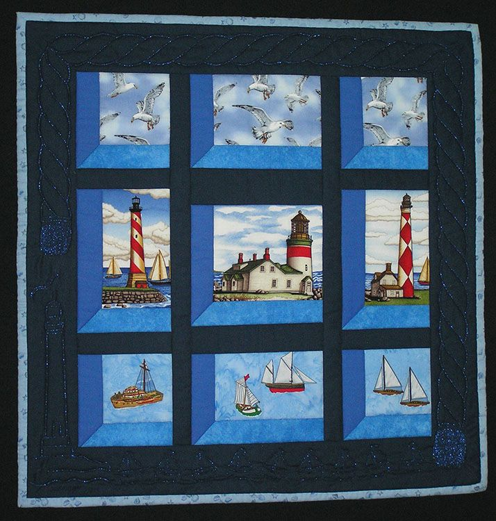 Attic window quilts with a view click a thumbnail to for Window quilt