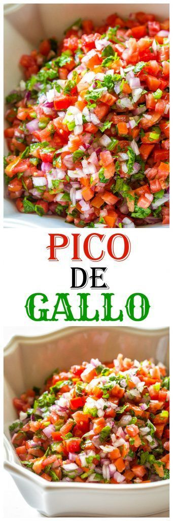 Pico De Gallo | the-girl-who-ate-everything.com