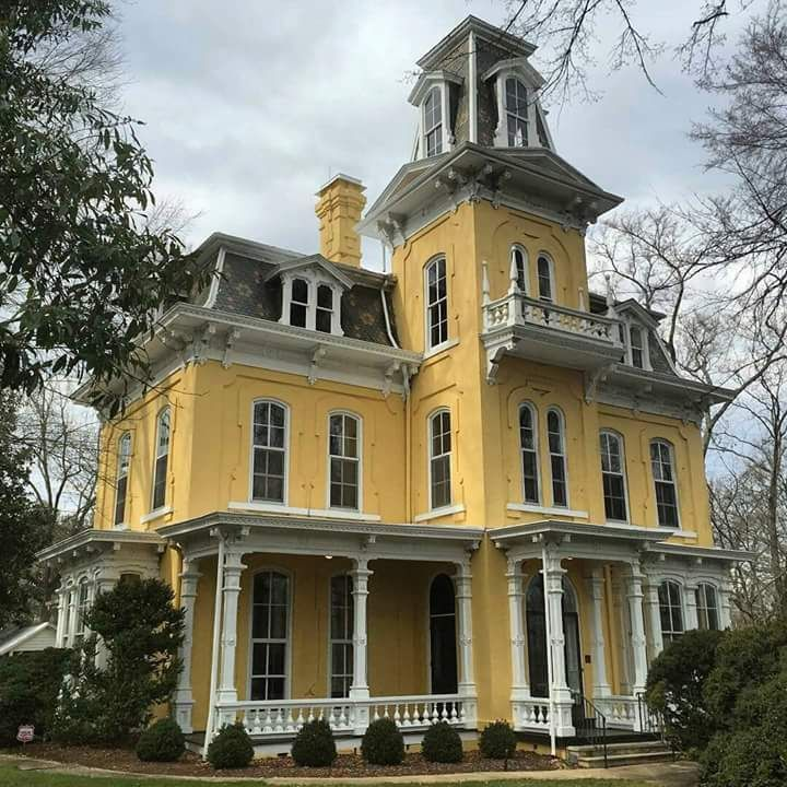 438 best second empire victorian homes images on pinterest for Historic second empire house plans
