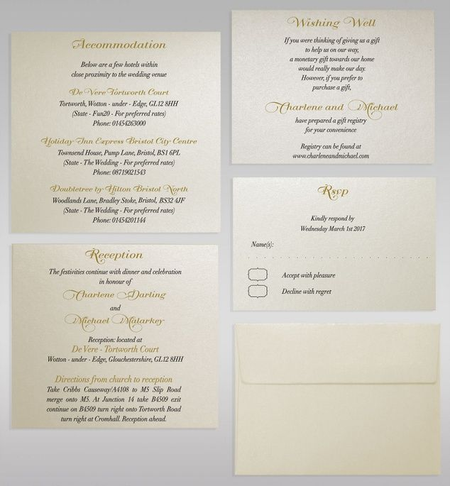 WEDDING INVITATION STEPWISE INSERTS Design team of Polina Perri studio offers simple, yet smart solution: additional stepwise inserts.