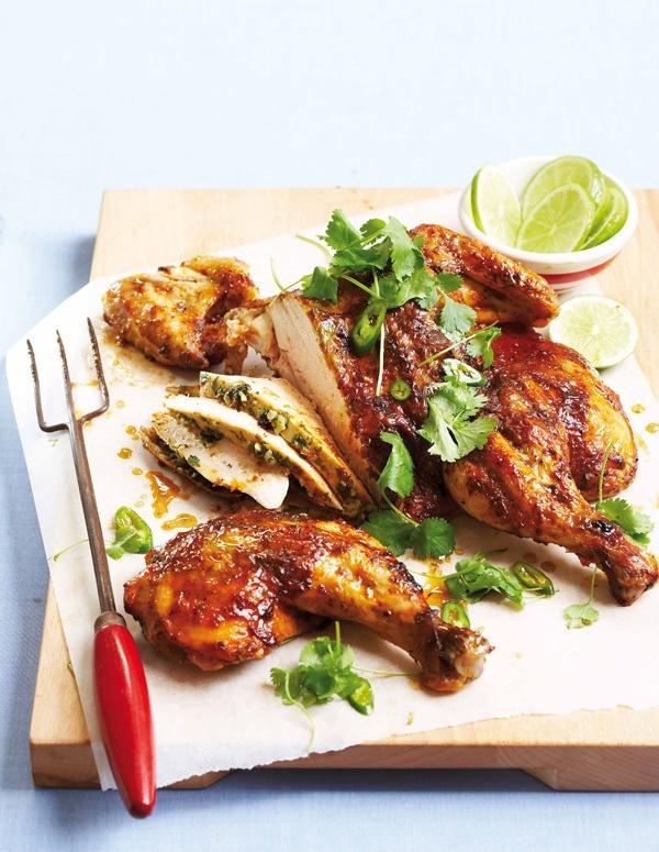 Peri-peri chicken..... dad's favourite :)