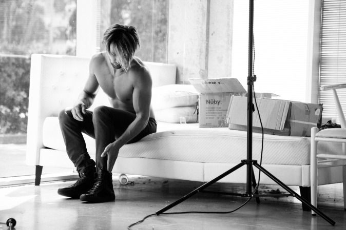 Check out male model Jason John in this behind the scene blog post about our Hugo Boss photoshoot!