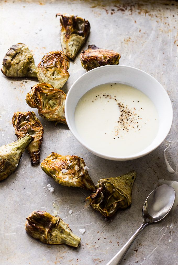 Forget chips and dip. Artichokes are the way to go