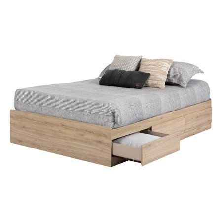 South Shore Induzy 54 Inches Mates Bed With Storage