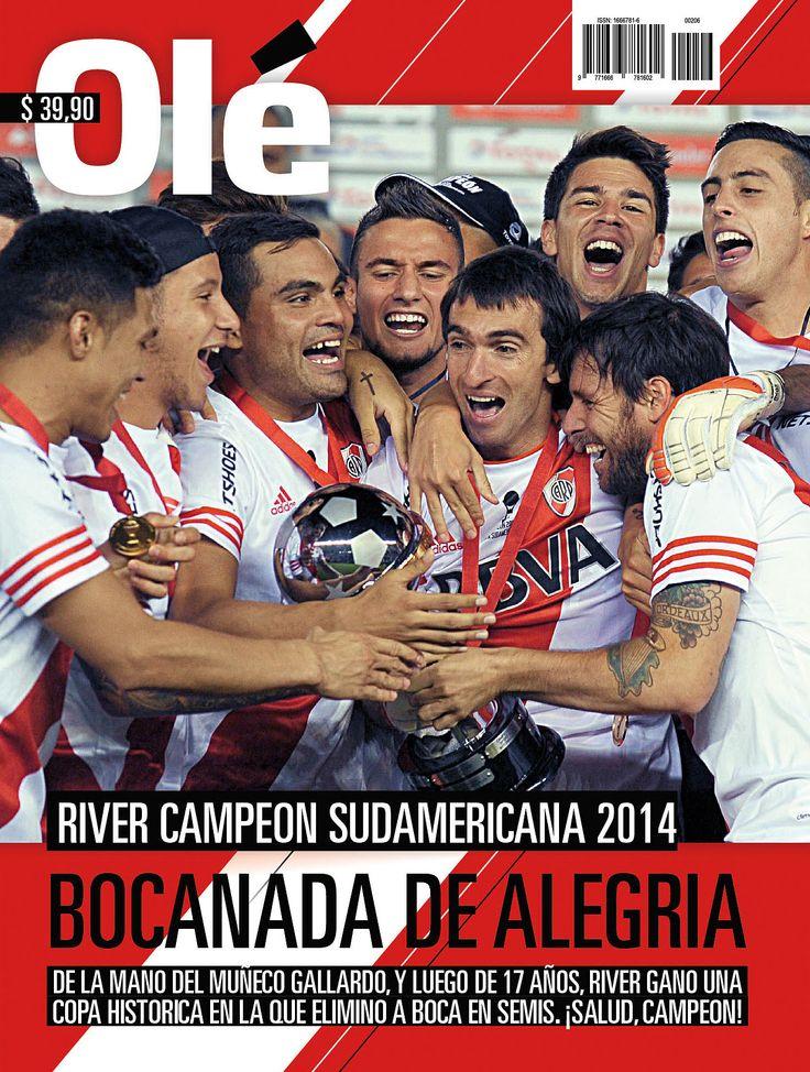 River #Sudamericana #2014 #Campeones #Alegria #RiverPlate #Ole