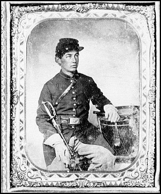 [Portrait of Pvt. George Henry Graffam, Company B, 30th ...