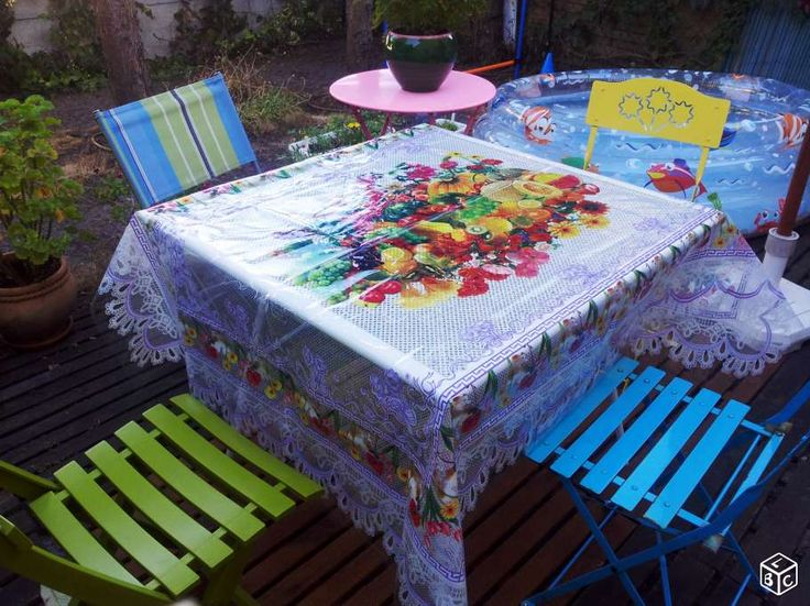 1000 id es sur le th me nappe ext rieure sur pinterest - Nappe table exterieur ...
