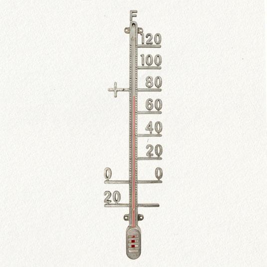 zinc thermometer.