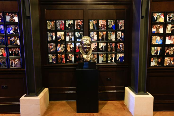 Harry Caray's Bust-- Harry Caray's Restaurant, Chicago, IL