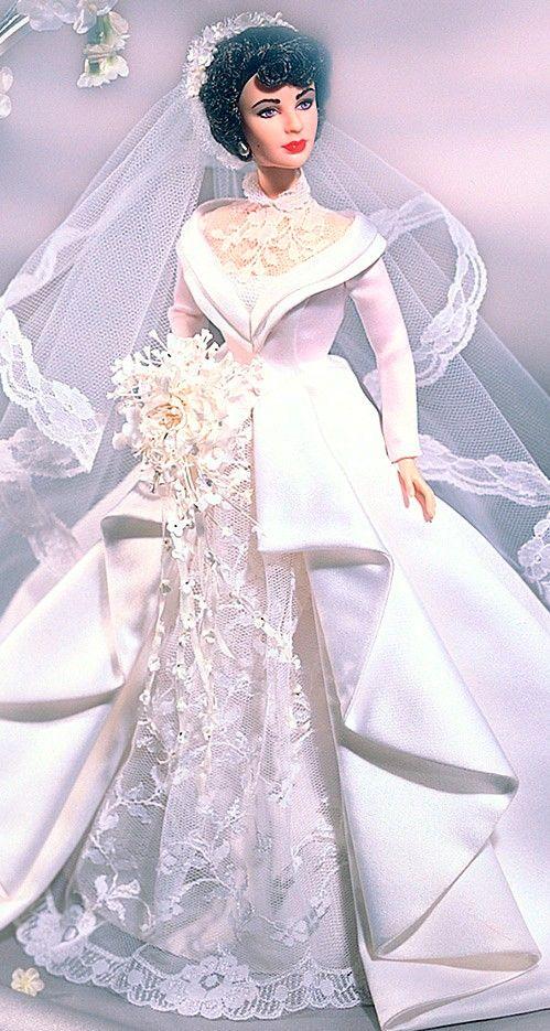 Barbie bride...  Elizabeth Taylor