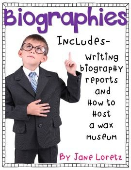 This unit has everything you need to write biographies and host a wax museum. A favorite unit!
