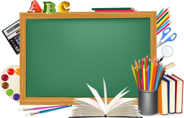 school supplies background png - Carian Google