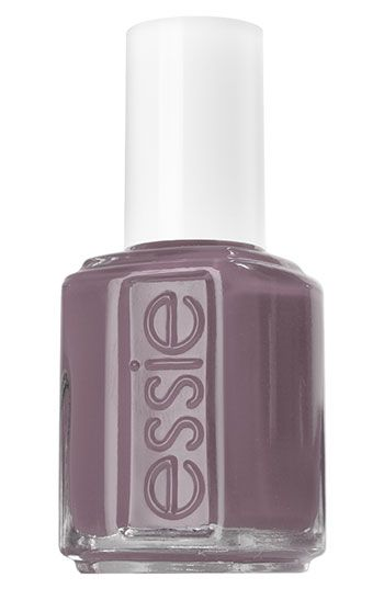 Essie nail polish in Merino Cool.  A fall and winter favorite when I want some color but nothing loud.
