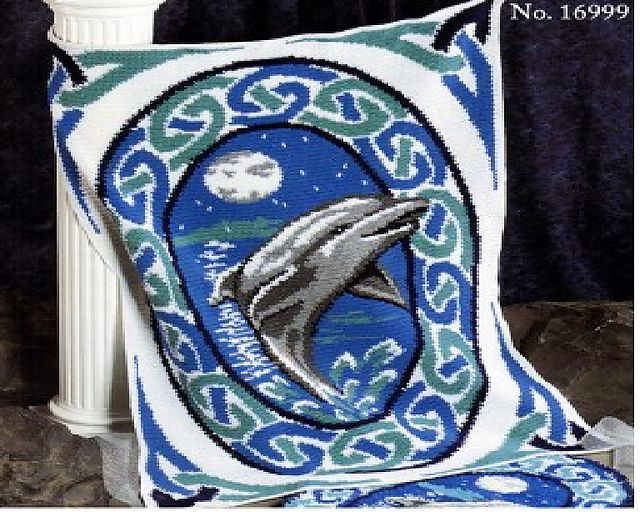 Afghans Dolphins And Pattern Library On Pinterest